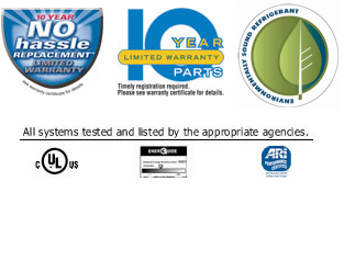 Warranty Enviro Friendly r410A Logo