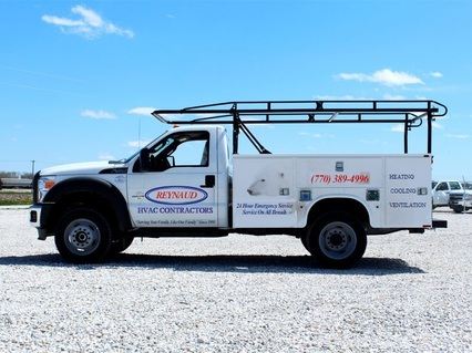 Reynaud Heating & Air Conditioning Professional HVAC Service Company - service-repair-installation truck