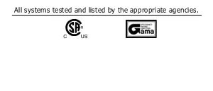 GAMA TESTED LOGO