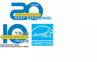 Warranty & Energy Star Logo