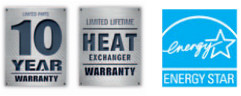 Warranty & Energy Star Logos